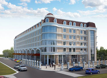 Ekaterinburg Shamhor Hotel Projesi