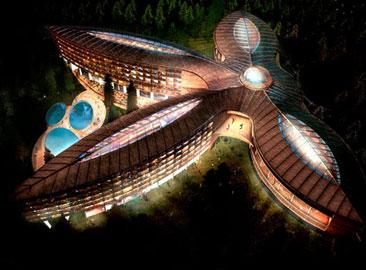Mriya Sanatorium Resort Hotel Projesi